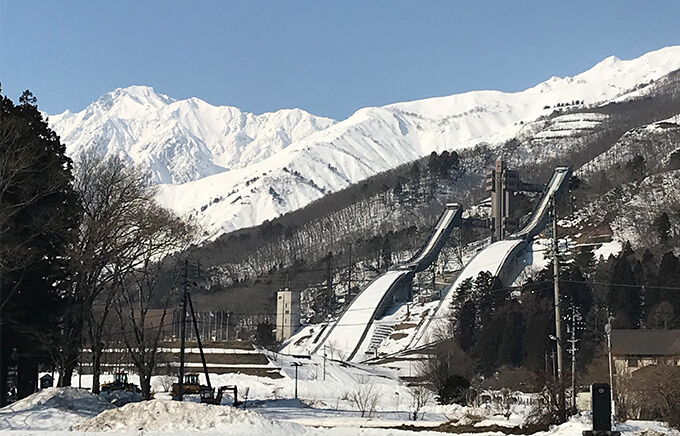 The 1998 Nagano Winter Olympics Venue